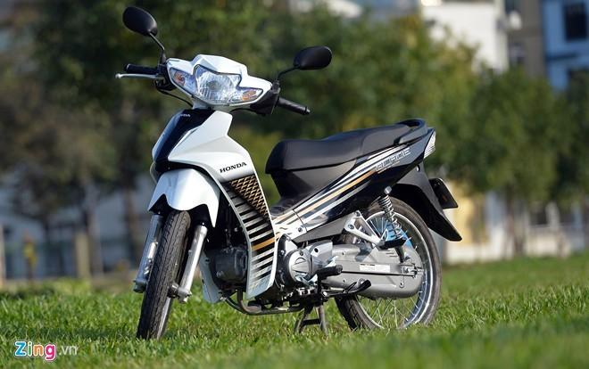 Yamaha va Honda cung tung dich vu Den xe mat cap o Viet Nam