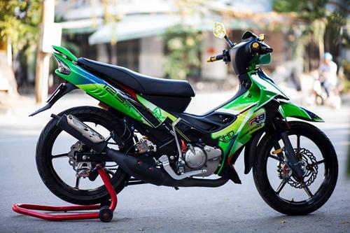 Yamaha Z125 Do noi bat cua Biker Sai Gon