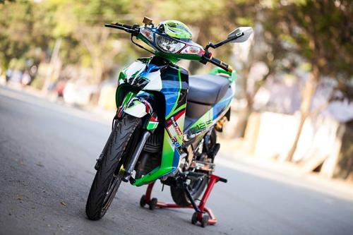 Yamaha Z125 Do noi bat cua Biker Sai Gon - 3