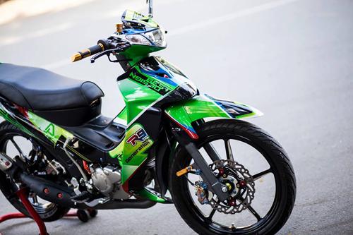 Yamaha Z125 Do noi bat cua Biker Sai Gon - 6
