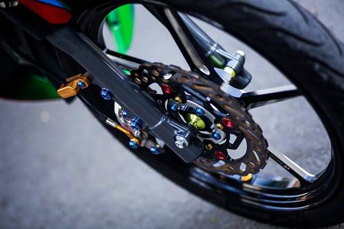 Yamaha Z125 Do noi bat cua Biker Sai Gon - 9