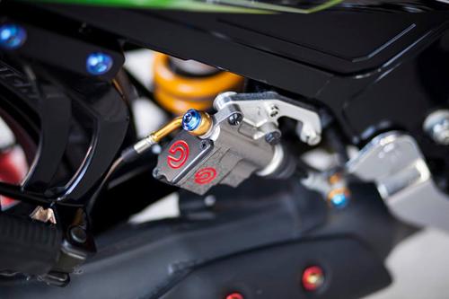 Yamaha Z125 Do noi bat cua Biker Sai Gon - 10