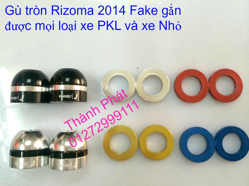 Do choi Rizoma Fake cac loai cho xe PKL va xe nho Bao tay Lux Spotline Gu xeoGu dep Gu dai G - 17