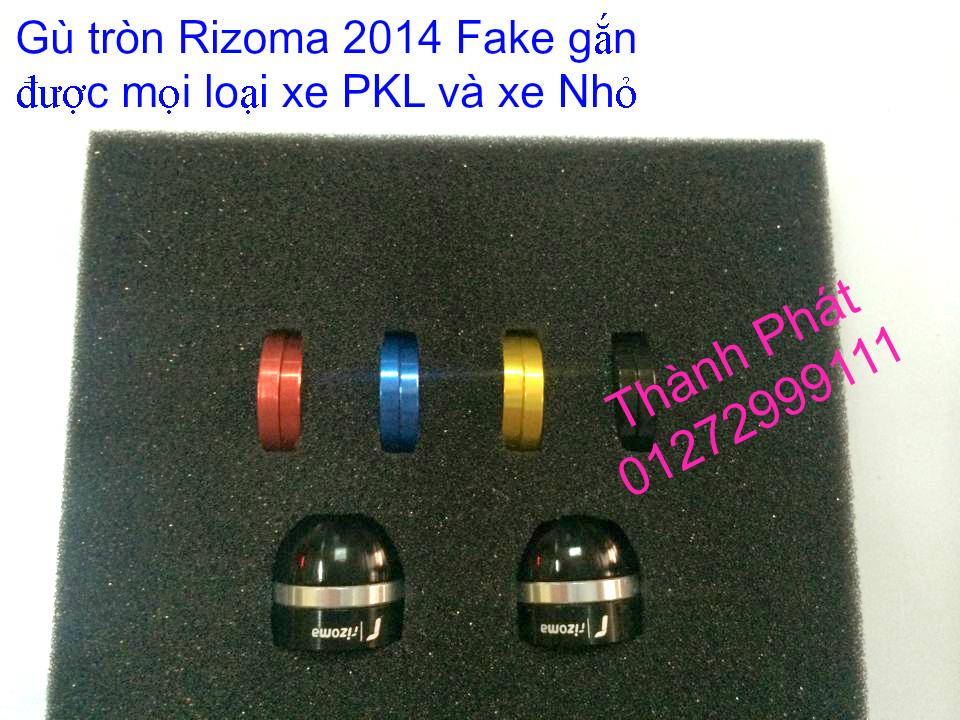 Do choi Rizoma Fake cac loai cho xe PKL va xe nho Bao tay Lux Spotline Gu xeoGu dep Gu dai G - 16
