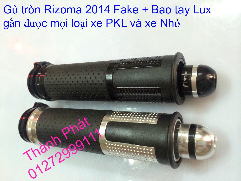 Do choi Rizoma Fake cac loai cho xe PKL va xe nho Bao tay Lux Spotline Gu xeoGu dep Gu dai G - 18