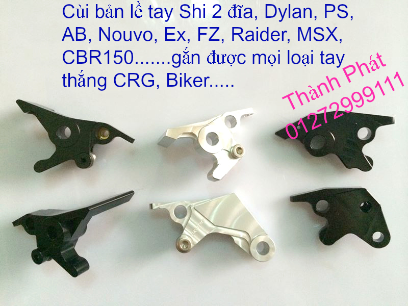 Bao Tay Gu Tay Thang Kieu Cum tang toc cho xe PKL va xe nho Barracuda DPM RIZOMA JapanSpeed - 4