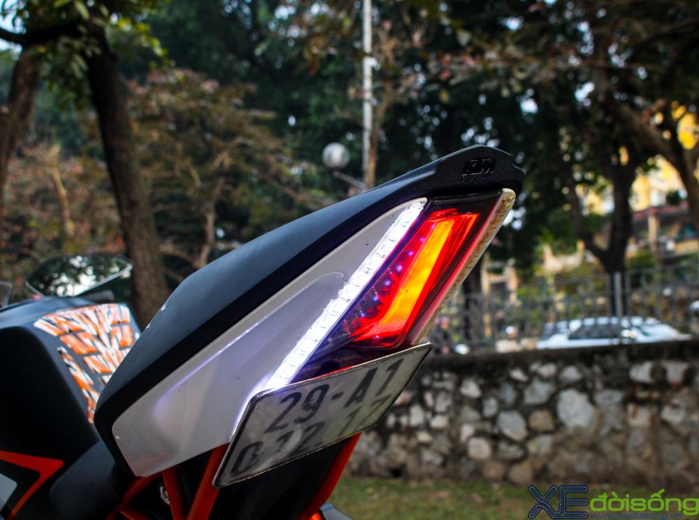 Can canh KTM RC200 chiec mo to gia re dau tien tai Ha Noi - 10