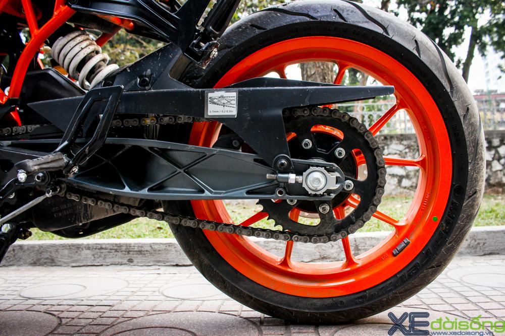 Can canh KTM RC200 chiec mo to gia re dau tien tai Ha Noi - 12