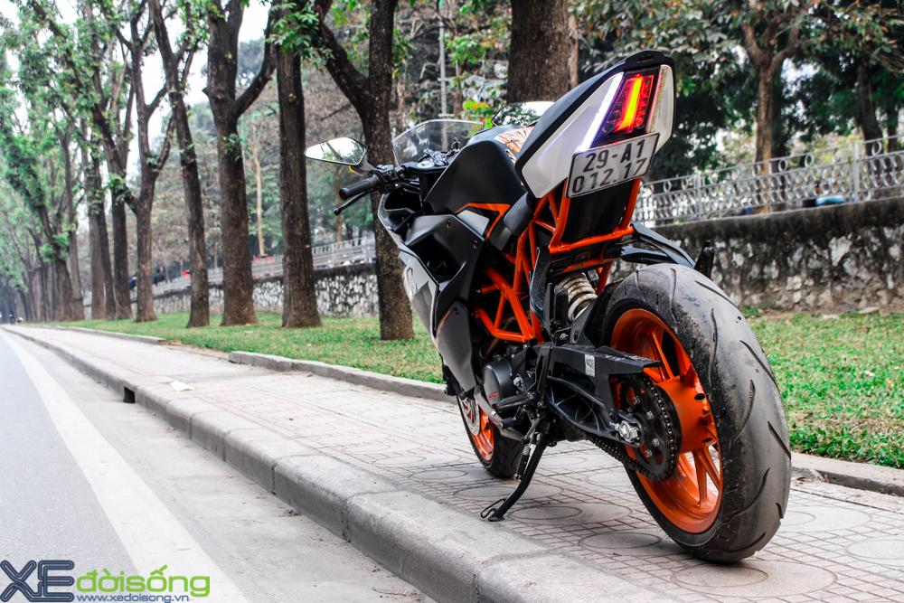 Can canh KTM RC200 chiec mo to gia re dau tien tai Ha Noi - 15