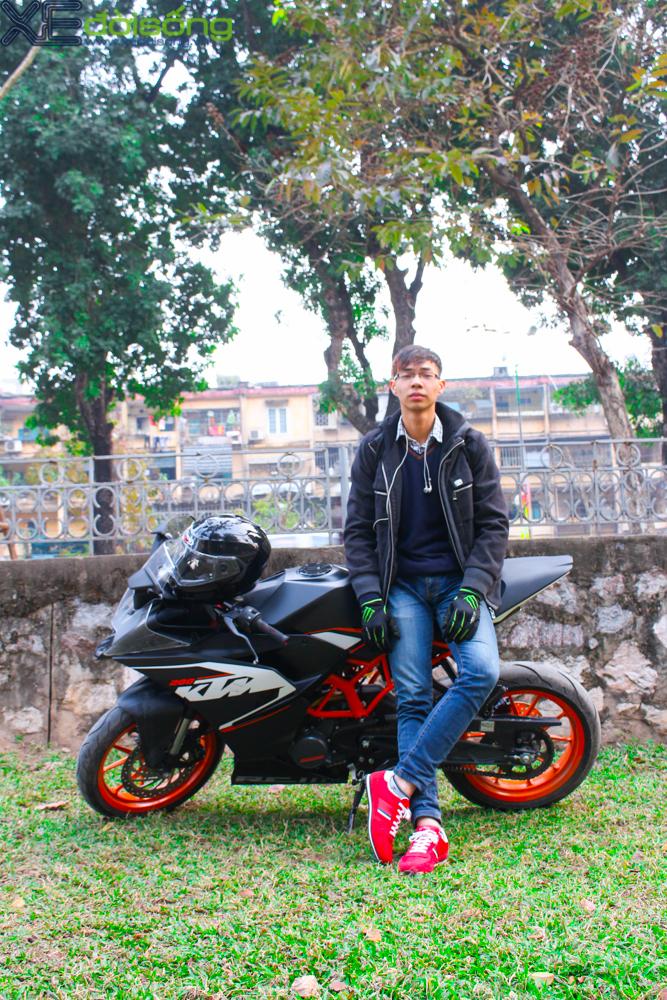 Can canh KTM RC200 chiec mo to gia re dau tien tai Ha Noi - 17