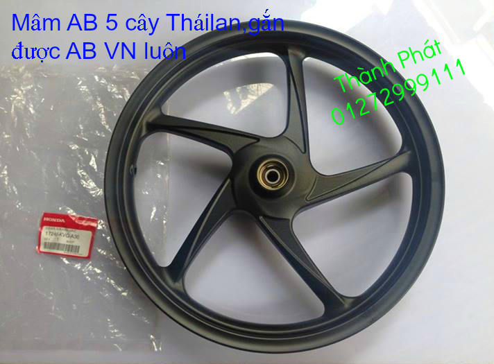 Thanh ly Do AB Thai va VN Dan ao AB FI VN AB thailan AB 110 dau bu 2012 AB 125 VN 2013 Dau 1 d - 15