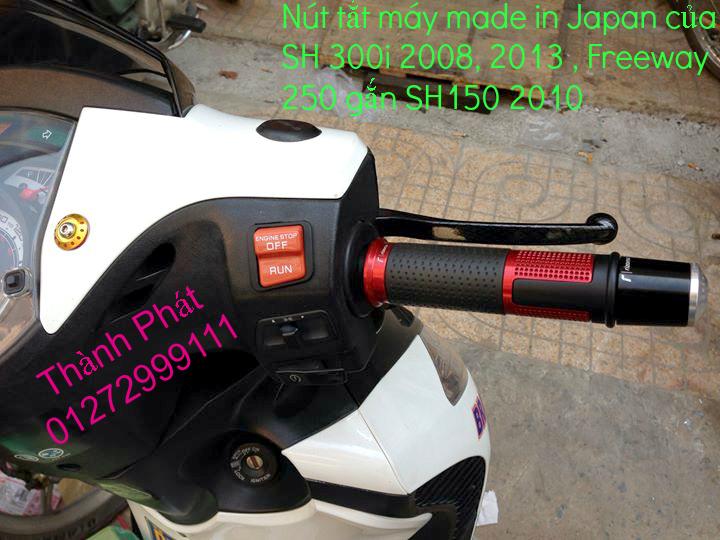 Chuyen phu tung zin Do choi xe SH 300i 2008 SH300i 2013 Freeway 250 nut tat may SH 300i Bao t - 14