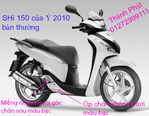 Chuyen Phu tung zin Do choi xe SHi150 2002 2013 Dylan PS - 26