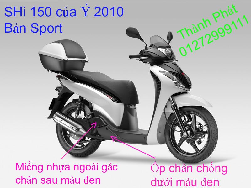 Chuyen Phu tung zin Do choi xe SHi150 2002 2013 Dylan PS - 27