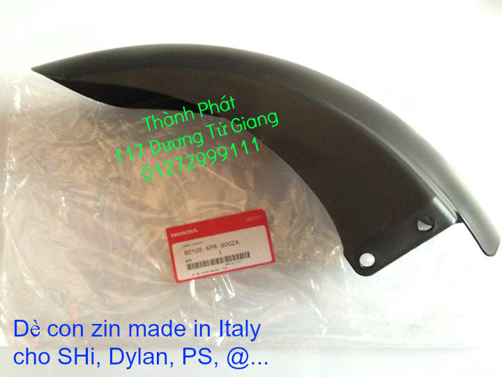 Chuyen Phu tung zin Do choi xe SHi150 2002 2013 Dylan PS - 6