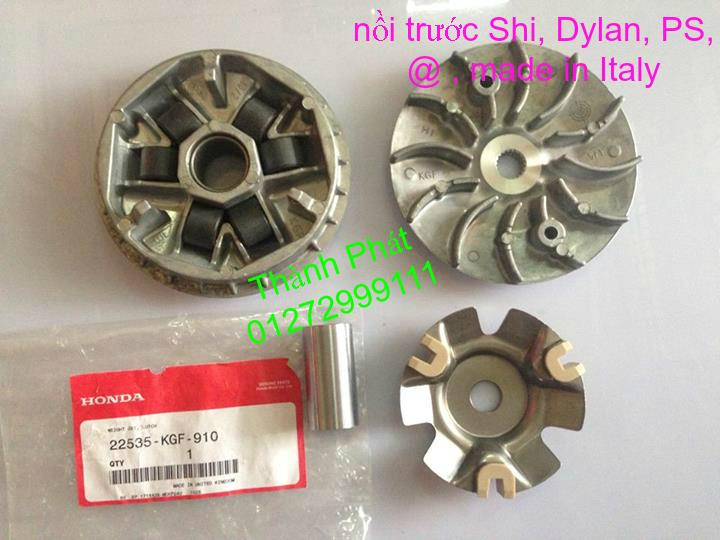 Chuyen Phu tung zin Do choi xe SHi150 2002 2013 Dylan PS - 30
