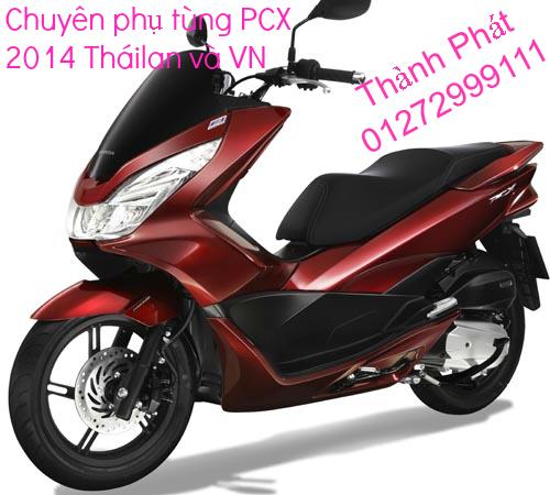Chuyen Phu tung Zin Honda PCX Thailan va VN doi 2011 doi 2014 day du het do mu va do may Gia tot u - 6