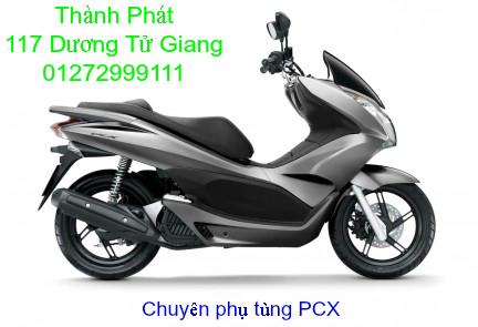 Chuyen Phu tung Zin Honda PCX Thailan va VN doi 2011 doi 2014 day du het do mu va do may Gia tot u - 18