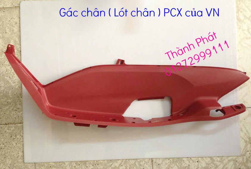 Chuyen Phu tung Zin Honda PCX Thailan va VN doi 2011 doi 2014 day du het do mu va do may Gia tot u - 26
