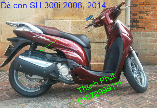 De con SH 300i 2008 2014 Gia tot hang co san Up 14102014 - 11