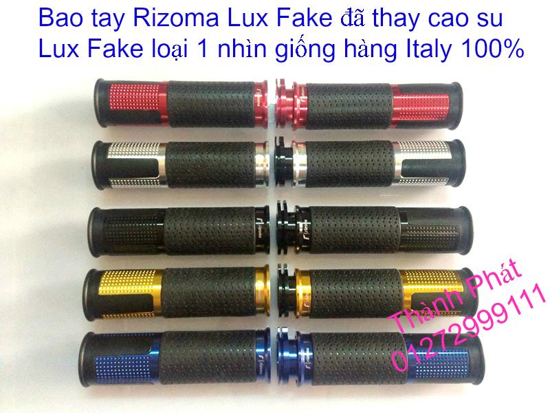 Cao su Bao tay Rizoma LUX Fake loai 1 cuc dep giong hang chinh hang Italy 9999 Gia tot Up 288201 - 8
