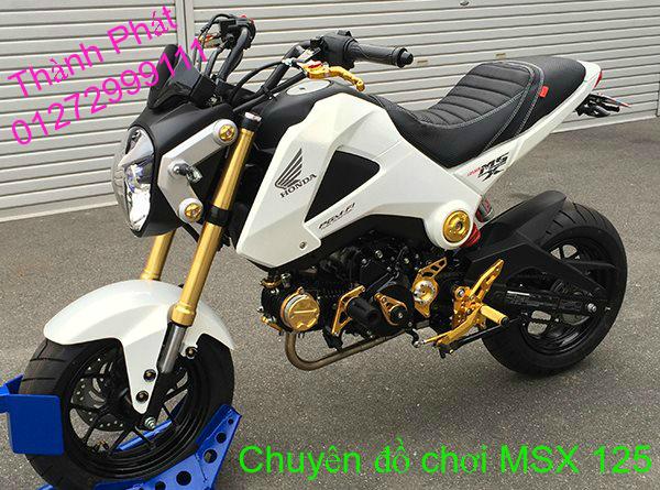 Do choi Honda MSX 125 tu A Z Po do Kinh gio Mo cay Chan bun sau de truoc Ducati Khung suo - 2