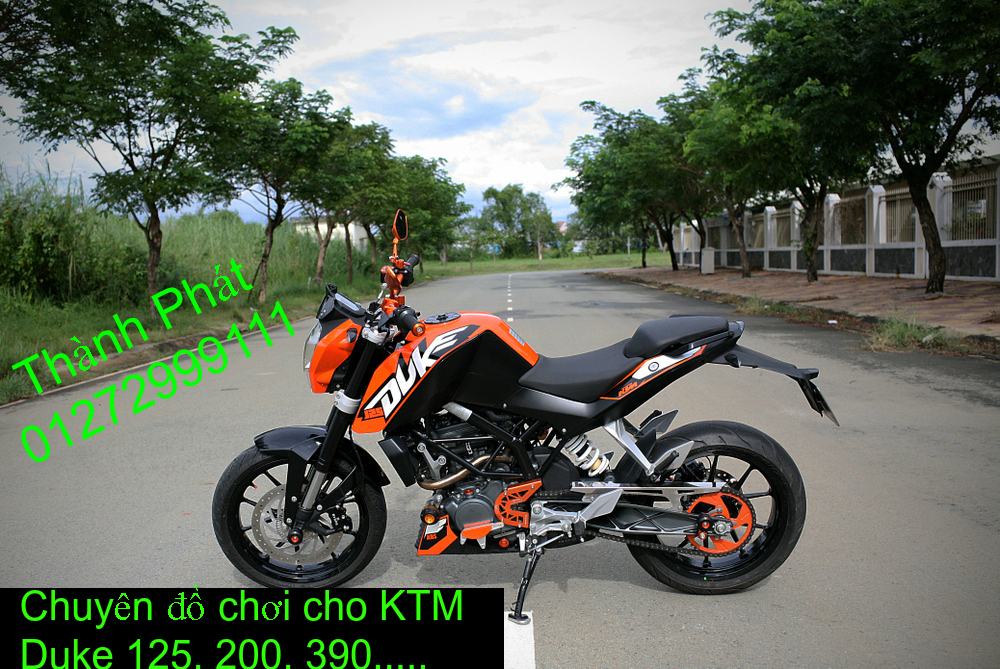Do choi KTM Duke 125 200 390 tu A Z Gia tot Up 522015 - 2