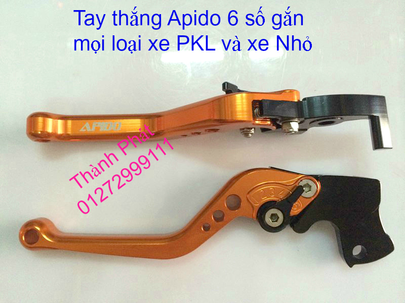 Bao Tay Gu Tay Thang Kieu Cum tang toc cho xe PKL va xe nho Barracuda DPM RIZOMA JapanSpeed - 13