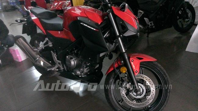 Honda CB300F dau tien tai Ha Noi Anh chi tiet