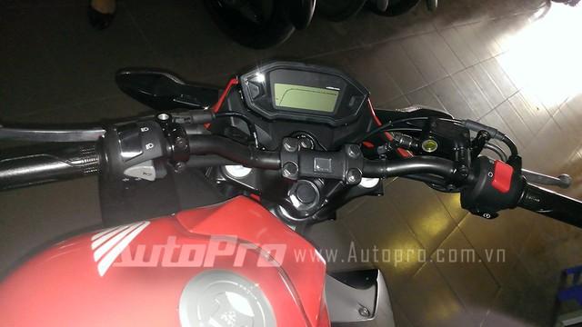 Honda CB300F dau tien tai Ha Noi Anh chi tiet - 6