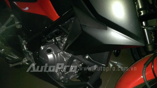 Honda CB300F dau tien tai Ha Noi Anh chi tiet - 8