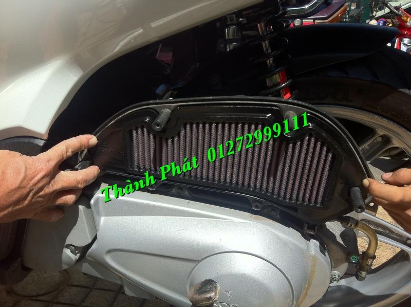 Loc gio do Loc dau DNA KN BMC cho xe Shi150 SH300 Shi VN Dylan PS PCX MSX125 KTM AB CL - 8