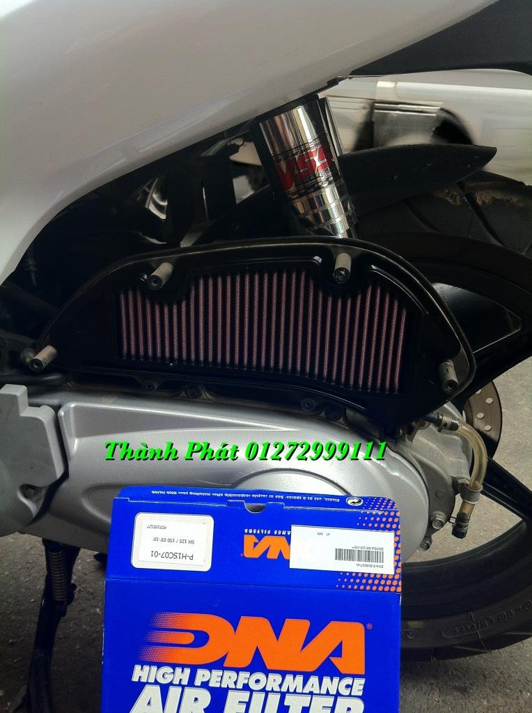 Loc gio do Loc dau DNA KN BMC cho xe Shi150 SH300 Shi VN Dylan PS PCX MSX125 KTM AB CL - 10