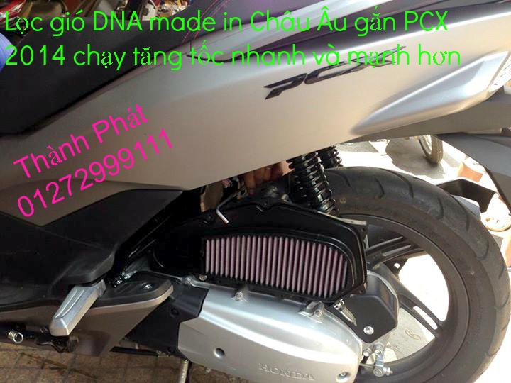 Loc gio do Loc dau DNA KN BMC cho xe Shi150 SH300 Shi VN Dylan PS PCX MSX125 KTM AB CL - 13