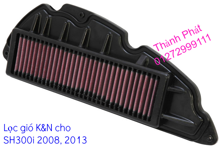 Loc gio do Loc dau DNA KN BMC cho xe Shi150 SH300 Shi VN Dylan PS PCX MSX125 KTM AB CL - 33