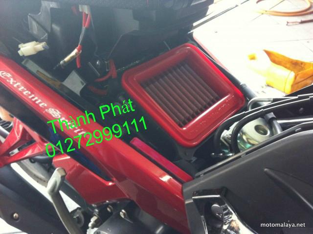Loc gio do Loc dau DNA KN BMC cho xe Shi150 SH300 Shi VN Dylan PS PCX MSX125 KTM AB CL - 2
