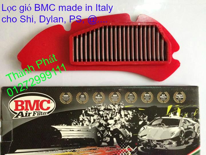 Loc gio do Loc dau DNA KN BMC cho xe Shi150 SH300 Shi VN Dylan PS PCX MSX125 KTM AB CL - 6
