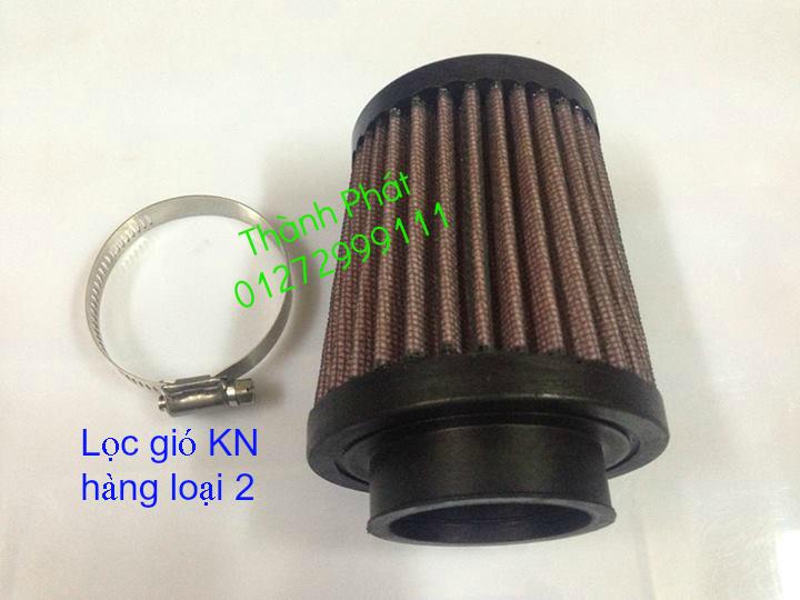 Loc gio do Loc dau DNA KN BMC cho xe Shi150 SH300 Shi VN Dylan PS PCX MSX125 KTM AB CL - 18