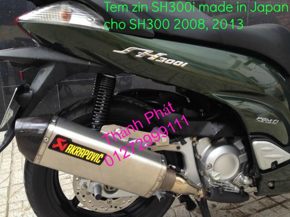 Chuyen phu tung zin Do choi xe SH 300i 2008 SH300i 2013 Freeway 250 nut tat may SH 300i Bao t - 12