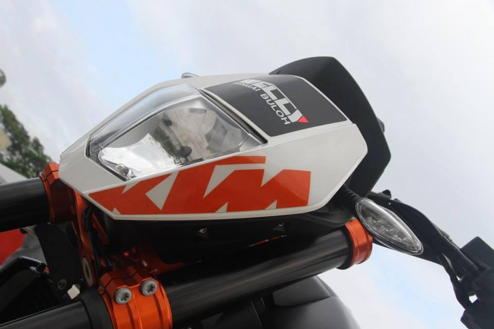 KTM Duke 690 cung po Akrapovic - 14