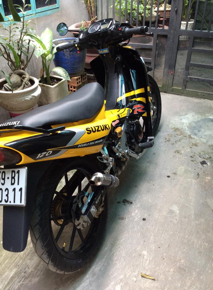 Satria 2000 do kieng cuc phong cach - 5