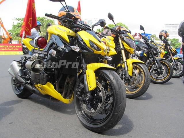 Doan moto dan doan voi tong mau vang choi tai Nha Trang - 11