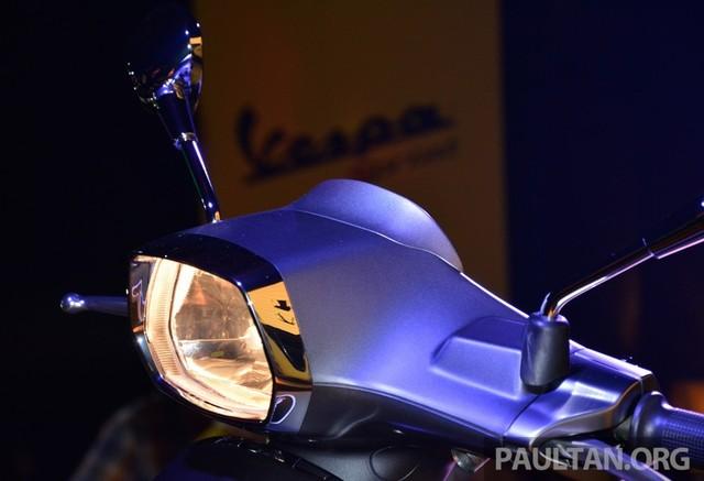 Vespa Sprint 150 vua ra mat tai Malaysia co gia cao hon tai VN - 9