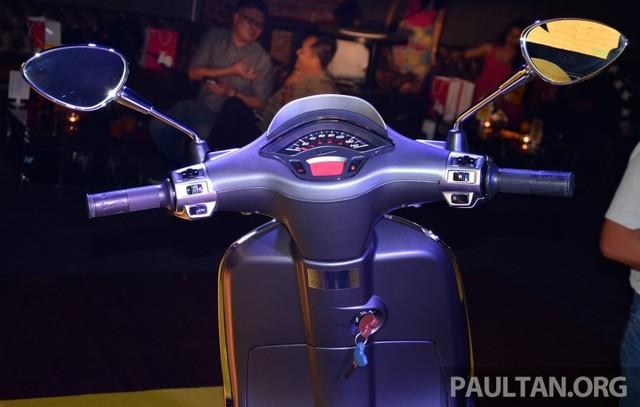 Vespa Sprint 150 vua ra mat tai Malaysia co gia cao hon tai VN - 14