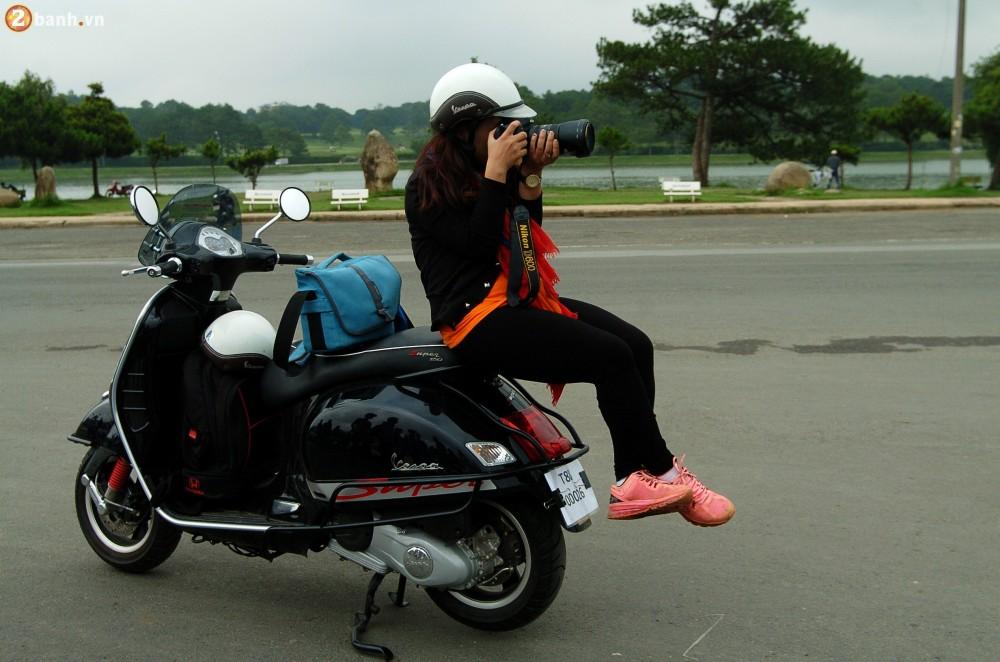 Cam nhan Vespa SprintGTS 150 sau cuoc chinh phuc LangBiang - 5