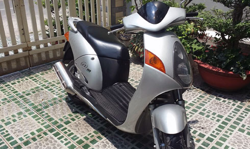 Honda Mot chiec xe vang bong 1 thoi tai Viet Nam