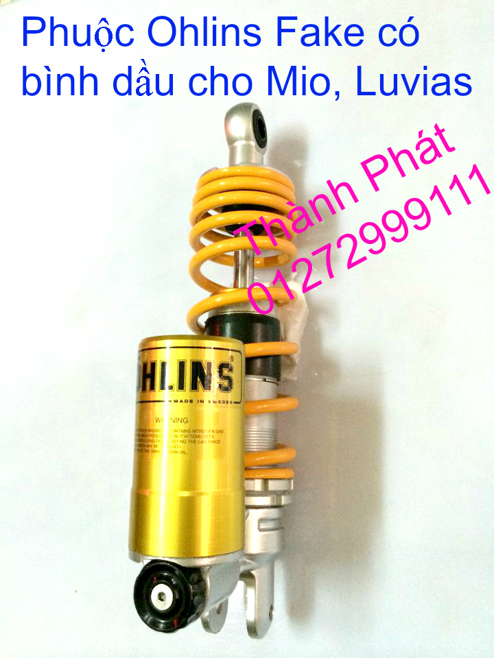 Phuoc Ohlins Fake co binh dau cho Shi Dylan PS AB Nouvo PCX Mio Vision Click i 125 SH Mode - 28