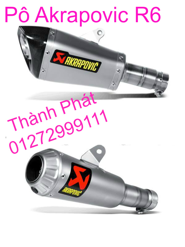 Po Akrapovic Hang Chinh Hang Cho Z1000 Z800 Ninja 300 BMW S1000R CBR1000 CB1000 R1 R6 - 11