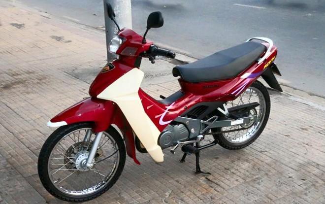 Suzuki RGV nguyen ban duoc tra gia ngang Kia Morning