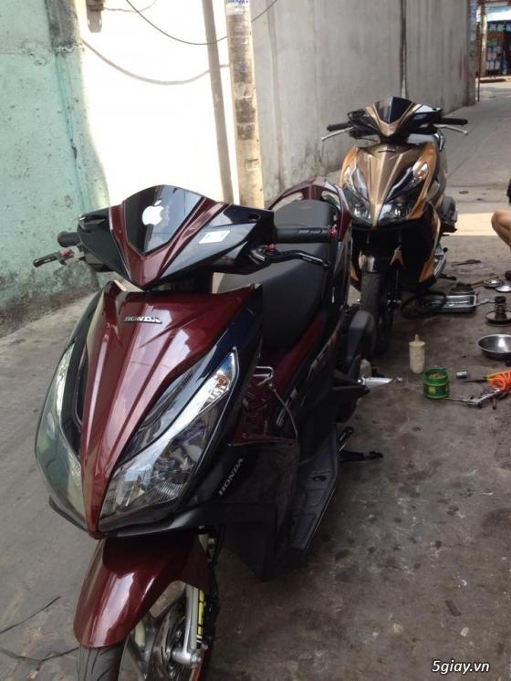 Chuyen Do Noi Xe Tay Ga Full Noi Noi Zin Bao Duong Ve Sinh Noi Cho Yamaha Honda Piago - 33